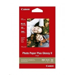 Papír Canon PP201 Photo Paper Plus Glossy 10x15cm, 260 g/m2, 50 ks
