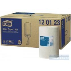 Zboží na objednávku - TORK 120123 Ručník MALÁ role 1vrstva bílá M1 /1 role