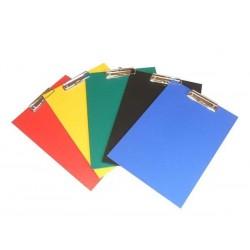 Zboží na objednávku - Deska psací podložka A4 horní klip PP plus žlutá