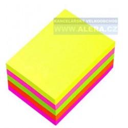 Lepicí bloček CONCORDE 38x51mm 300 lístků neon mix
