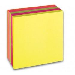 Lepicí bloček CONCORDE 76x76mm 400 lístků neon mix (5x80)