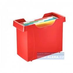 Zboží na objednávku - Zásobník na závěsné desky LEITZ PLUS červená 19931025