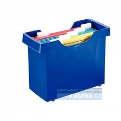 Zboží na objednávku - Zásobník na závěsné desky LEITZ PLUS modrá 19931035