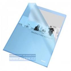 Zboží na objednávku - Obal A4 L 115mic PP matný, 25ks Esselte 60834 modrý
