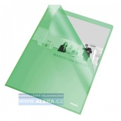 Zboží na objednávku - Obal A4 L 115mic PP matný, 25ks Esselte 60835 zelený
