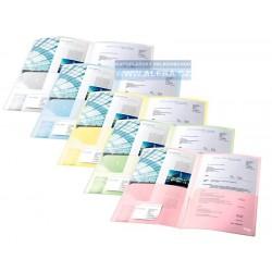 Desky na dokumenty A4 s vnitřní chlopní Esselte 17325 mix barev 5ks