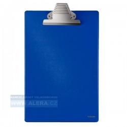 Zboží na objednávku - Psací podložka A4 s mamutí sponou Esselte 27355 modrá