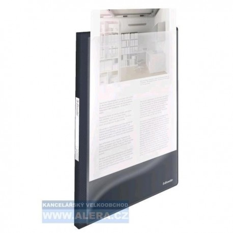 Katalogová kniha A4 Esselte Vivida s přední kapsou 40kapes 624012