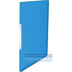 VÝPRODEJ - Katalogová kniha A4 Esselte Vivida 40kapes modrá 623997