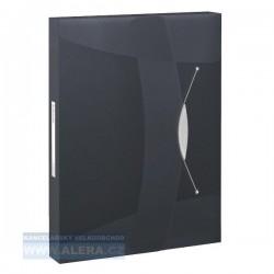 VÝPRODEJ - Box na spisy Esselte Vivida 624049 černý