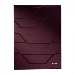 Katalogová kniha A4 Leitz PRESTIGE 40kapes mahagonová 46110076