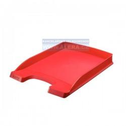 Zboží na objednávku - Odkladač na dokumenty Leitz Slim Plus 52370025 červená