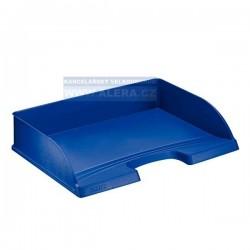 Odkladač na dokumenty Leitz Standard Plus 52180035 na šířku modrá