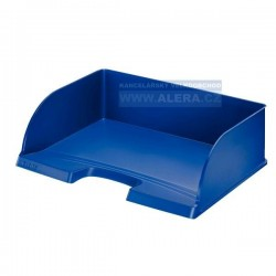 Odkladač na dokumenty Leitz Jumbo Plus 52190035 na šířku modrá
