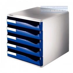 Zboží na objednávku - Zásuvkový box Leitz 5 zásuvek 52800035 modrý