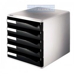 Zboží na objednávku - Zásuvkový box Leitz 5 zásuvek 52800095 černý