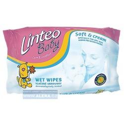 Vlhčené toaletní ubrousky Linteo /72ks - rodinné balení