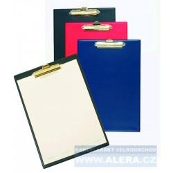 VÝPRODEJ - Deska psací podložka A4 skřipec modrá