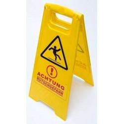 "Tabule výstražná "" Pozor kluzká podlaha"" 55cm"