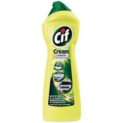 .Cif cream LEMON (žlutý) 720gr - tekutý písek (500ml)