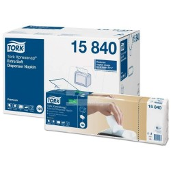 Zboží na objednávku - TORK 158400 Ubrousky papírové 2vrstvy bílé do zásobníku NEW 4000ks N4