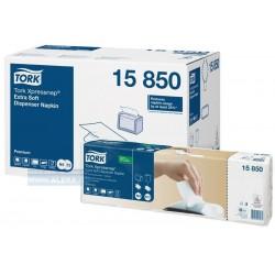 Zboží na objednávku - TORK 15850 0 Ubrousky papírové 2vrstvy bílé do zásobníku NEW 8000ks N4