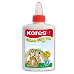 Zboží na objednávku - Lepidlo Kores White glue 125ml