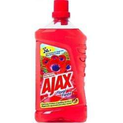 Ajax floral fiesta wild red 1 litr červený - saponát na podlahu