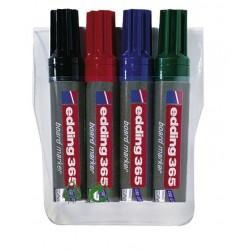 Zboží na objednávku - Popisovač Edding 365/4ks sada barev 2-7mm bílá tabule