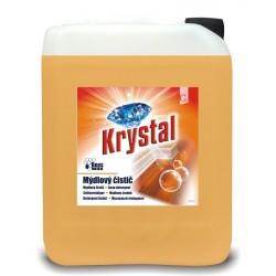 Krystal 5 litrů - mýdlový čistič na dřevěnou a plovoucí podlahu