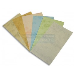 Zboží na objednávku - Papír mramor A4 200g/100 listů modrá 6