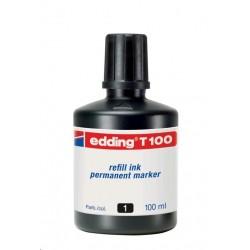 Náplň Edding T100 pro permanentní popisovače 100ml černá