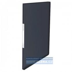 Katalogová kniha A4 Esselte Vivida 40kapes černá 623999