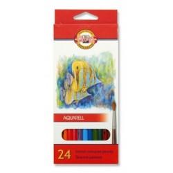 Zboží na objednávku - Pastelky akvarelové 24ks Koh-i-noor 3718 Aquarell - školní - Ryby