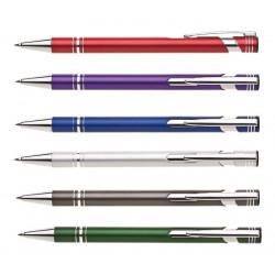 Pero kuličkové Limet kovové - mat