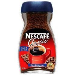 Káva Nescafé CLASSIC - BEZ KOFEINU 100g