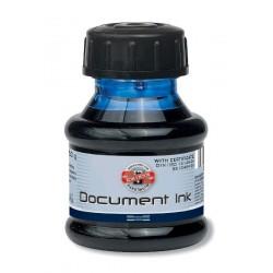 Inkoust dokumentní černý 50gr Koh-i-noor 141601