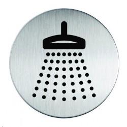 Zboží na objednávku - Informační piktogram nerez Durable 4938 Sprcha