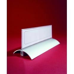 Stolní jmenovka 52x100mm trasparentní de Luxe Durable 8200 2ks v balení