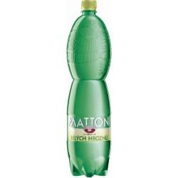 Nápoj MATTONI bílé hrozny perlivá 1,5L 6ks balení