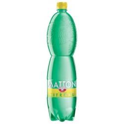 Nápoj MATTONI citron perlivá 1,5L 6ks balení