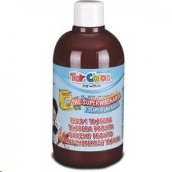 Zboží na objednávku - Barva temperová supervypratelná Toy Color 0.5 litr plast hnědá