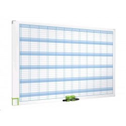 Zboží na objednávku - Tabule plánovací roční NOBO PERFORMANCE 900x600mm