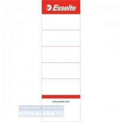 Pořadač zasouvací štítek 7,5cm/10kusů Esselte 810801
