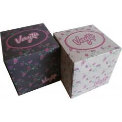 Kapesníky papírové kosmetické /60ks VERYTIS 3-vrstvé v krabičce KOSTKA