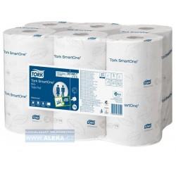 Zboží na objednávku - TORK 472193 Papír WC SmartOne® MINI 2vrstvy bílý T9 /12rolí