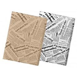 Obal na doklady A6 dvoudílný NEWSPAPER