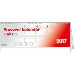Kalendář 21S/BSB3 Citáty III. 345x120