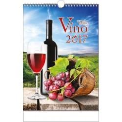 Kalendář 21N/BNF1 Víno 320x450