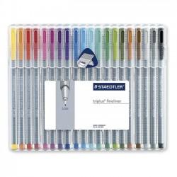Zboží na objednávku - Popisovač liner Staedtler 334/20 sada barev 0.3 Triplus